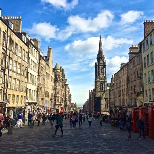 Three Days in Edinburgh