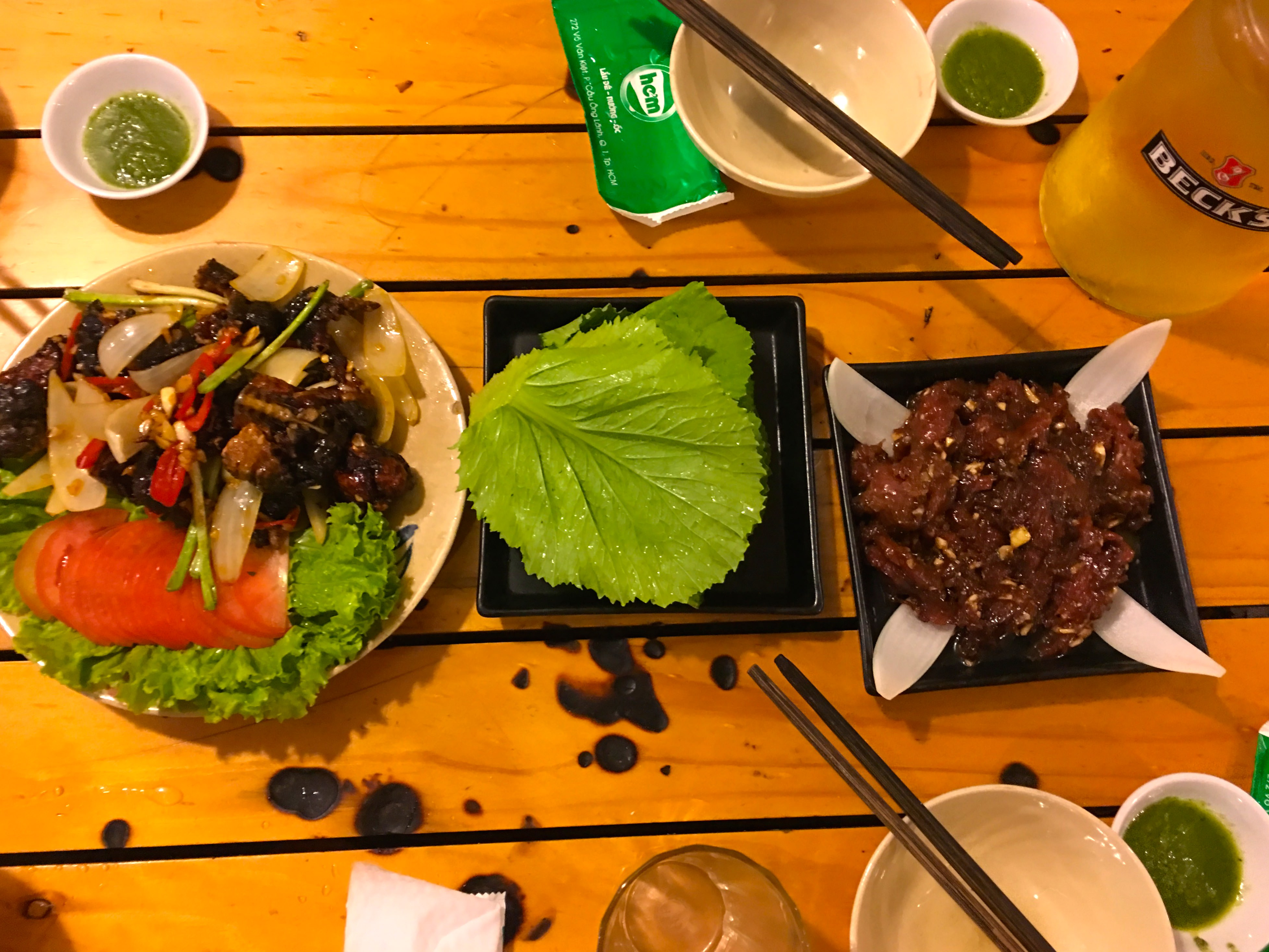 Vietnamese BBQ, Saigon Food Tour