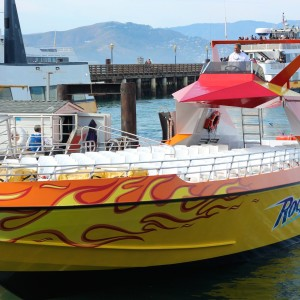 A Day on the Bay with the RocketBoat, San Francisco